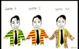 Giuseppe Conte e le diverse casacche del Premier