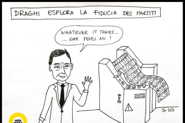 Mandato esplorativo a Mario Draghi per formare un nuovo Governo