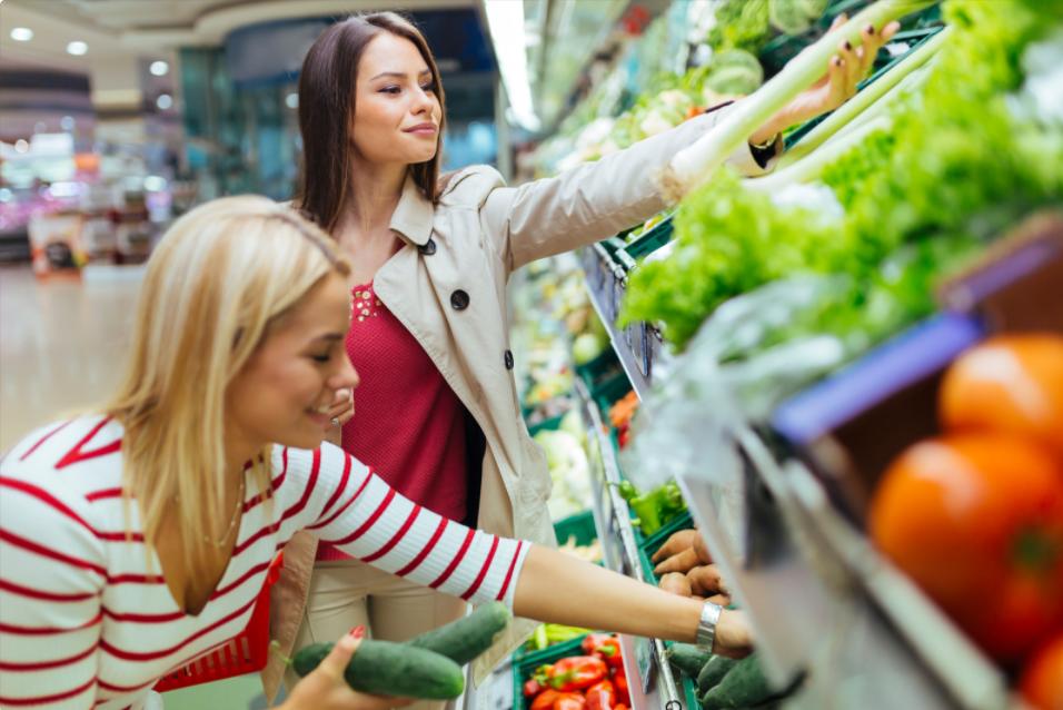 le vendite del cibo bio nel 2020 crescono in particolare al supermarket