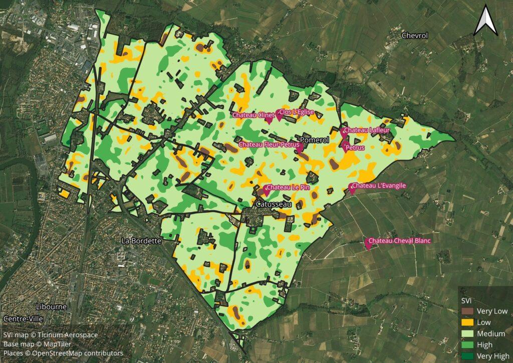 Le immagini satellitari che salvano la vita alle case e danno i voti al vino