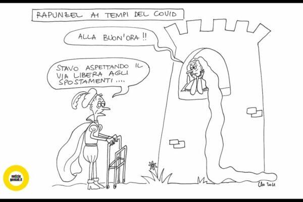 vignetta geniale spostamenti tra regioni covid claudia piazzoni