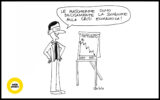 vignetta geniale mascherina crisi economica claudia piazzoni