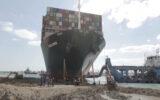 La nave che ha bloccato il canale di Suez Ever Given