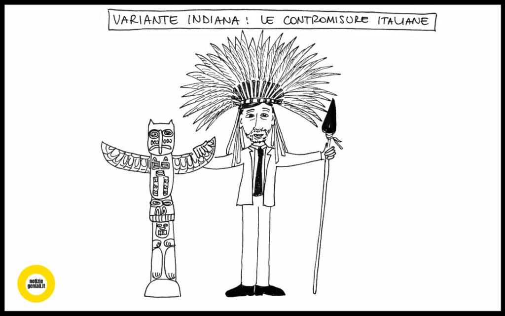 Variante indiana: l'Italia prepara le contromisure (forse...)