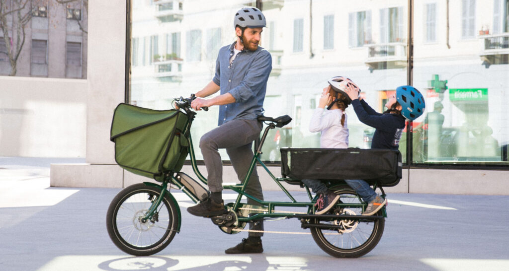 La cargo bike milanese