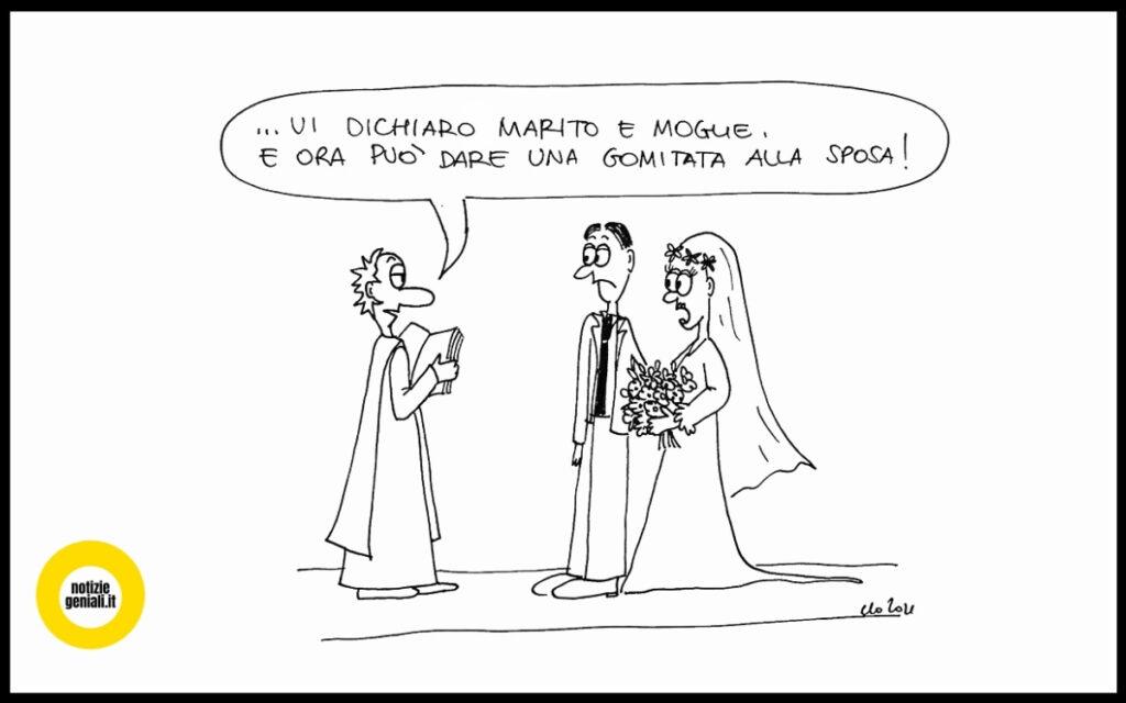 dopo il record di divorzi è boom di matrimoni